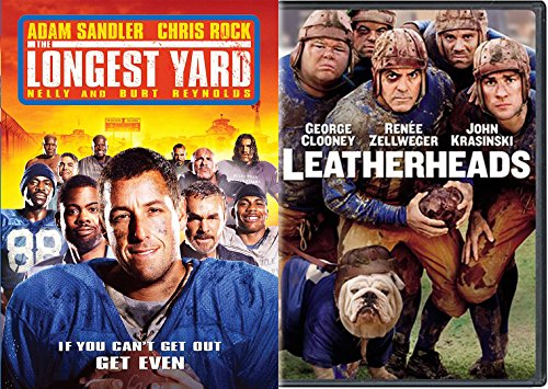 Leatherheads, the Longest Yard : Football Comedy 2 Pack Collection