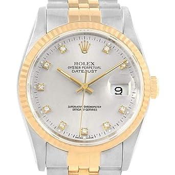 22c72bbce84 Amazon.com  Rolex Datejust Automatic-self-Wind Male Watch 16233 ...