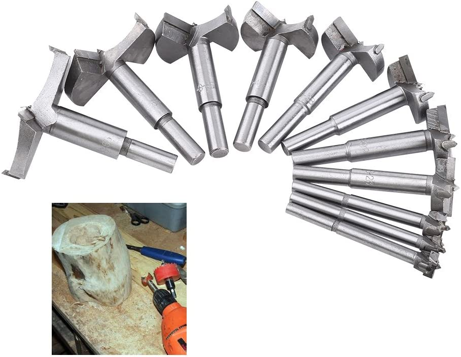 Pangding 1Pcs Cemented Carbide Forstner Drill Hole Bit Woodworking Boring Flat Wood Cutting Tool 42mm