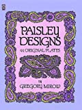Paisley Designs (Dover Pictorial Archive)