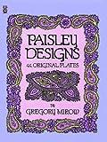 Paisley Designs: 44 Original Plates
