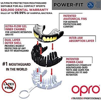 Opro Power-fit Bling /& Gurt/ /Z/ähne