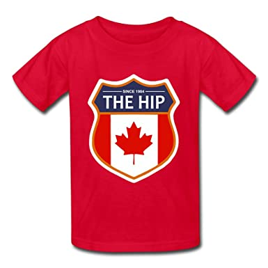 7986304d9 Amazon.com  Unisex Baby The Tragically Hip Tshirts Red  Clothing