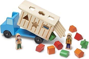 Melissa & Doug Dump Truck Kids Toy