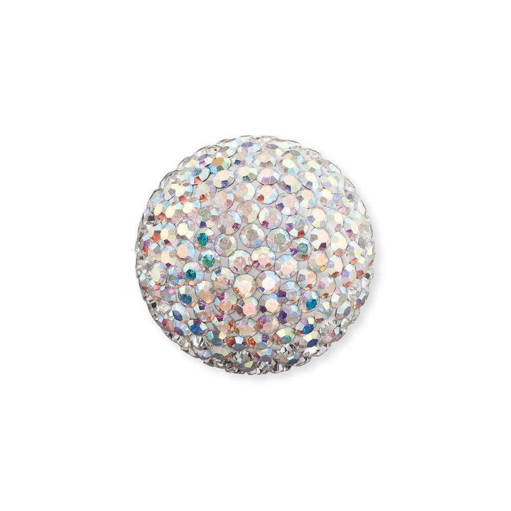 Engelsrufer Klangkugel mit weißen Kristallen ERS-01-ZI-L