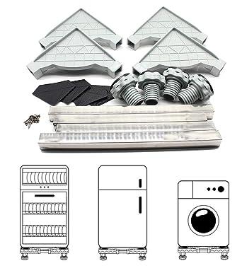 Yiiiby - Estructura ajustable para lavadora, frigorífico y podio ...