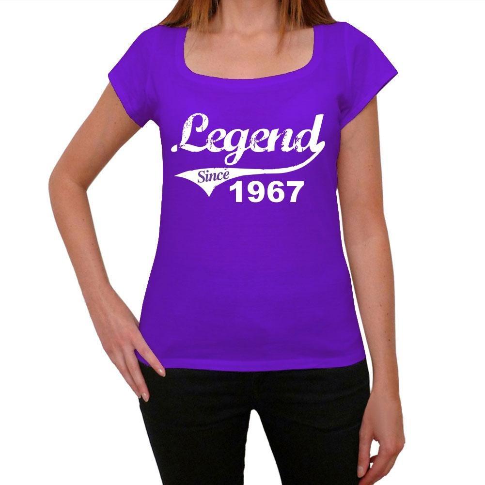 1967, camiseta purpura, camisetas mujer, camiseta cumpleaños ...