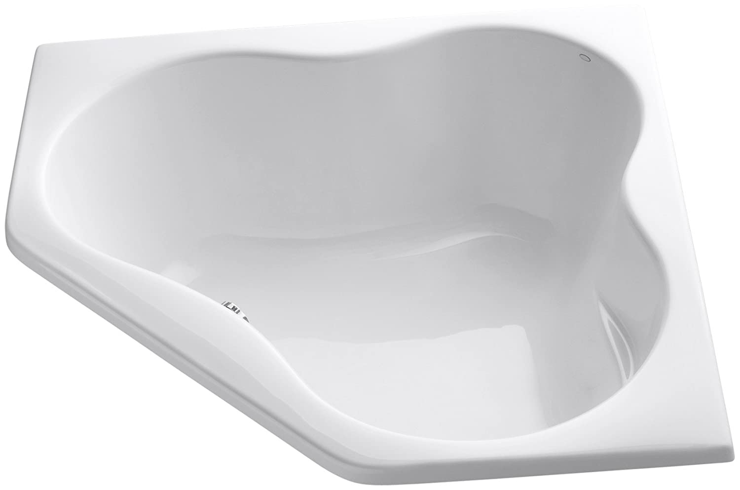 KOHLER K-1155-0 5454 Corner bath, White - Drop In Bathtubs - Amazon.com