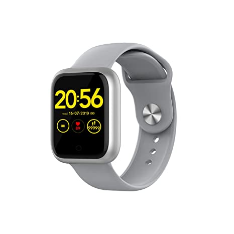 Giyastar Smart Watch, Touch Screen Smartwatch Wrist Watch with Remote Camera, Waterproof Phone Smart Watch Sports Fitness Tracker Sleep Calorie ...