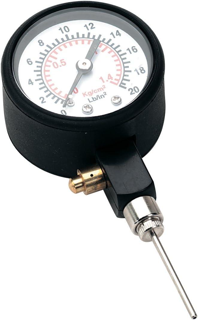 Precision - Medidor de presión para balones de fútbol Negro Negro ...