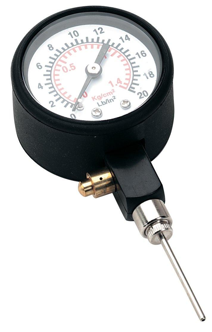 Precision Medidor de presión para balones de fútbol