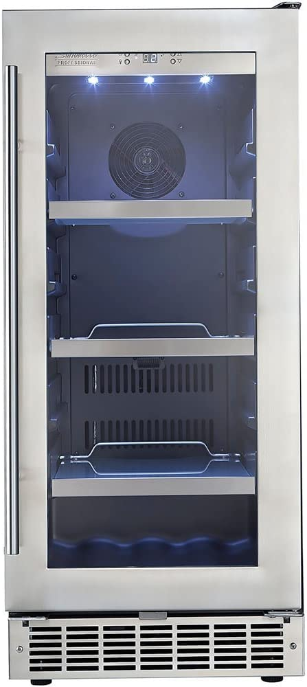 Amazon Com Piedmont 15 In Single Zone Beverage Center Appliances