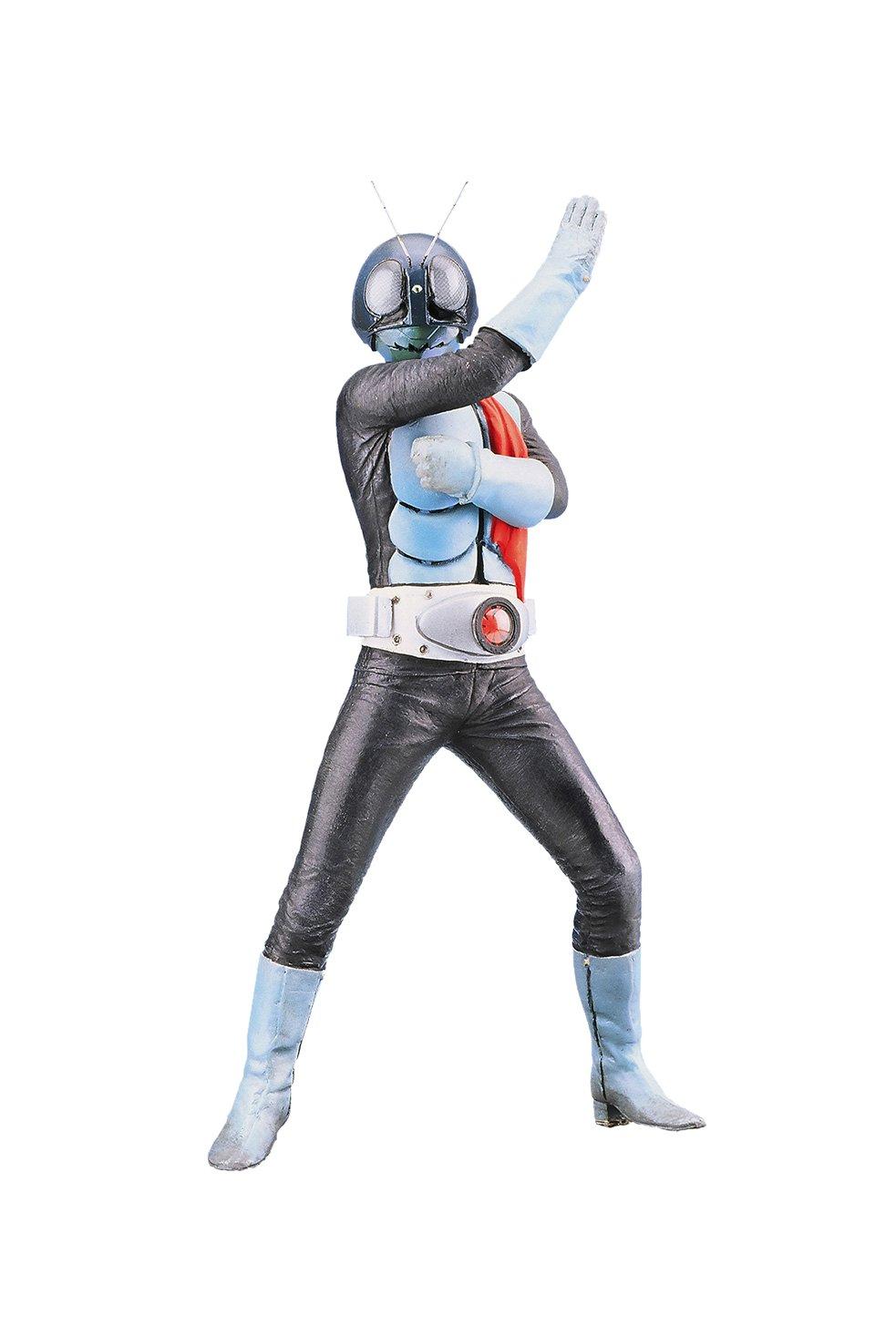 Superheroe plaestico blando coleccioen kit modelo Takeshi Hongo aproximadamente 205 mm de PVC fabricadas con kit de montaje sin pintar