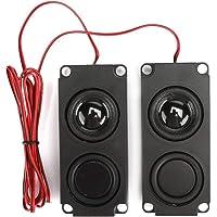VBESTLIFE Draagbare Heavy Bass Audio Cavity 40 mm magnetische dubbele luidspreker voor tv-monitoren, breed en volledig…