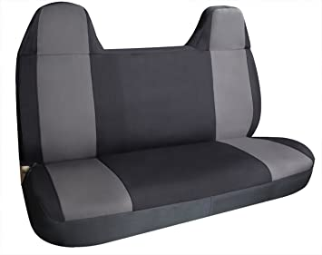 Leader Accessories Pick Up Truck Car Gray Seat Cover Bench For 1997 2017 Ford F