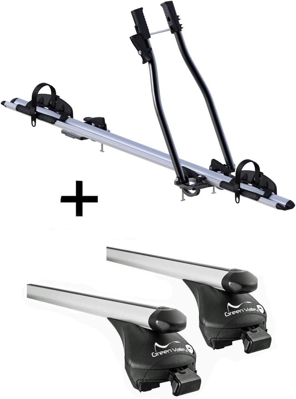 Vdp Fahrradträger Sagittar Relingträger Quick Xl Kompatibel Mit Ford Connect Grand Tourneo Ab 2014 Auto
