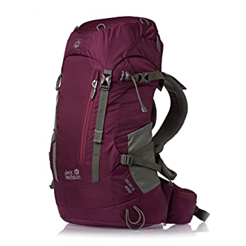 new authentic new cheap sale usa online JACK WOLFSKIN ACS Hike 24 Ladies Backpack, Berry: Amazon.co ...