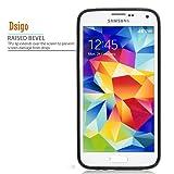 Galaxy S5 Case, Samsung S5 Black Case, Dsigo TPU