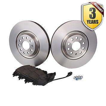 Seat Leon Kit de almohadillas y discos de freno delantero (fr discos 340 mm): Amazon.es: Coche y moto