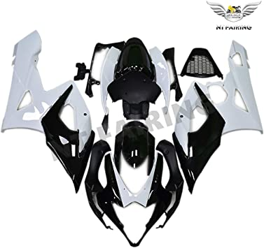 NT FAIRING Matte Glossy Black Injection Mold Fairing kits Fit for Suzuki 2005 2006 GSXR 1000 K5 05 06 GSX-R1000 Aftermarket Painted ABS Plastic Motorcycle Bodywork