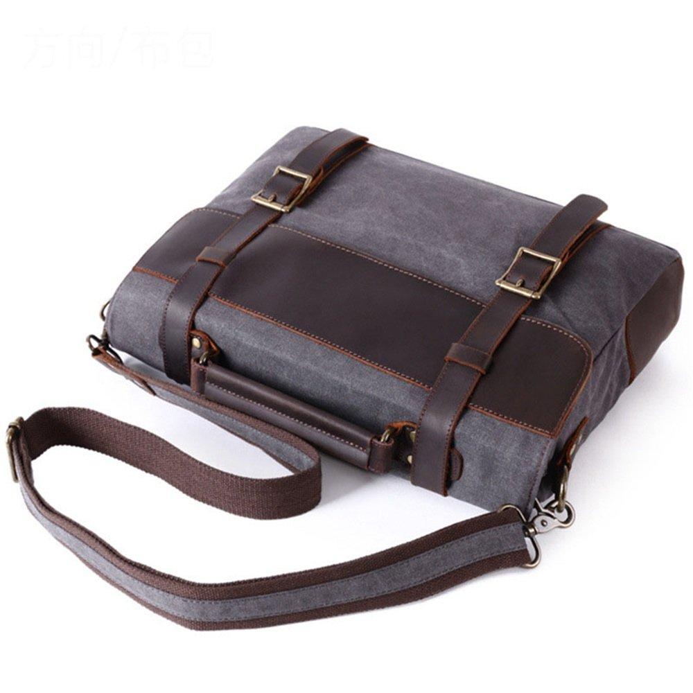 Bolso de la mochila del estilo del de vintage de la oficina Bolso de del la cartera del negocio informal Bolso de la taleguilla del mensajero de Crossbody del hombro, negro / fucsia / verde / de color caqui 78ff12