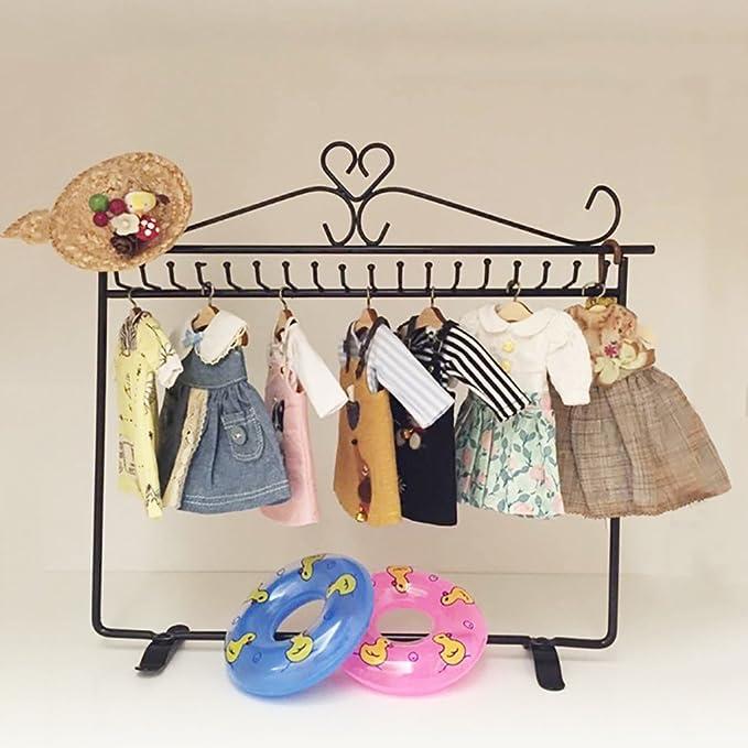 Amazon.com: coscosx 6 pcs perchero de pared de ropa de ...