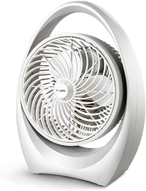 Ventilador mesa eléctrico Ventilador giratorio Portátil Silencioso ...