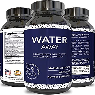Water Pills for Weight Loss for Women and Men Diuretics Reduce Water Retention with Vitamin B6 Cranberry Dandelion Root Green Tea Relieves Bloating & Fatigue - Boost Metabolism Energy by Natural Vore