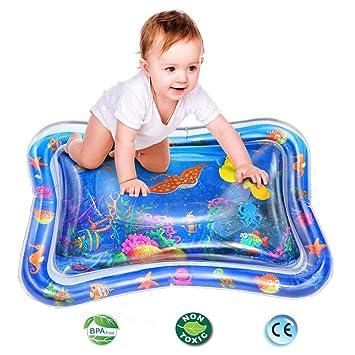 Amazon.com: ThinkMax Tummy Time - Alfombra de agua inflable ...