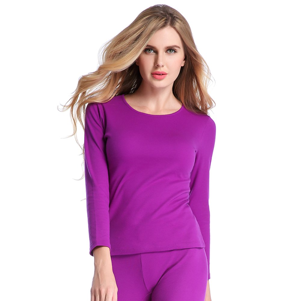 PLMWQAVDFN Couple thermal underwear sets/Cotton autumn and winter packages/Solid long-sleeved pants suit Qiuyi-D XL