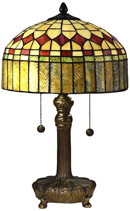 Dale Tiffany Lamps Table Lamp, Antique Bronze - Dale Tiffany Lamps Table Lamp, Antique Bronze - - Amazon.com