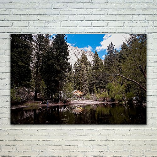 Westlake Art - Poster Print Wall Art - Trespasser Reflection - Modern Picture Photography Home Decor Office Birthday Gift - Unframed - 18x12in - Mt Whitney John Trail Muir