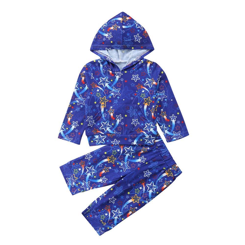 38a2c95d5fef Amazon.com  Winsummer Toddler Baby Kids Boys Girls Christmas 2PC ...