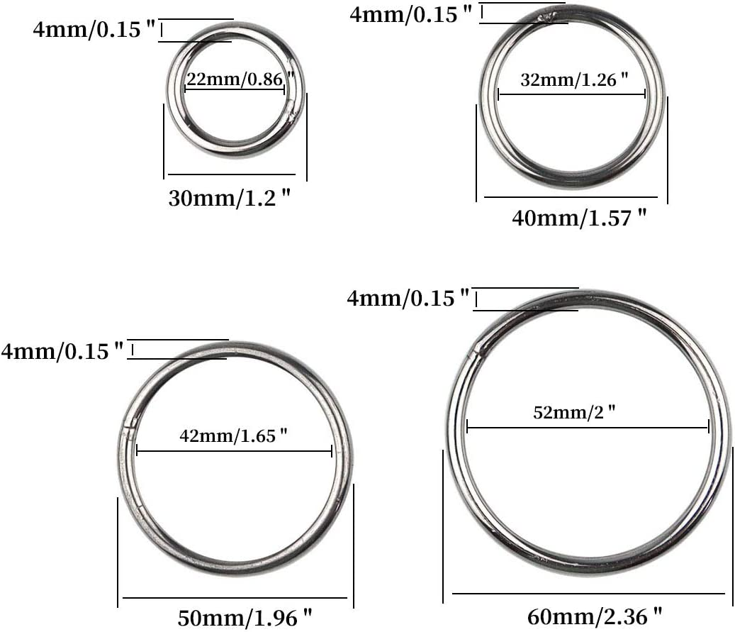 Round 6 ID 75A Durometer 6-1//4 OD Black Pack of 2 1//8 Width 258 Viton O-Ring