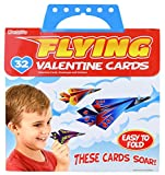 #10: Kangaroo's Flying Paper Airplanes; (32-Count) Valentine's Day Cards For Kids
