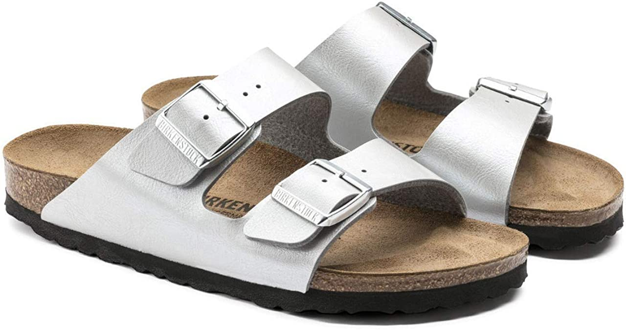 Birkenstock Arizona Graceful Argent Birko Flor Graceful