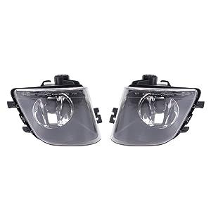 Left & Right Side Fog Lights Reflector Housing for 2009-2013 BMW F01 F02 740i 740Li Left 63177182195 Right 63177182196