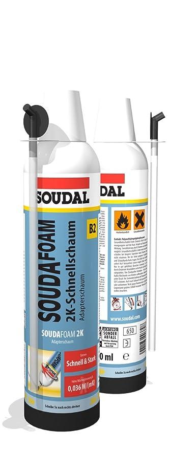 Soudal Souda Foam B2 2 K Rápido Espuma Espuma de poliuretano – Adaptador | profesional 2