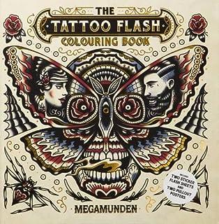 The Tattoo Flash Colouring Book Books