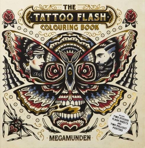 Read Online Tattoo Flash Colouring Book ebook