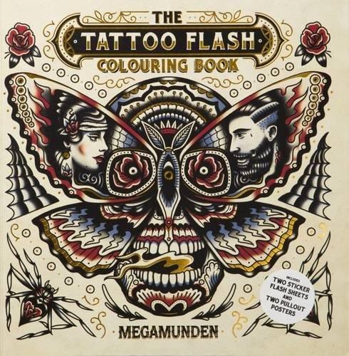 Tattoo Flash Colouring Book ebook