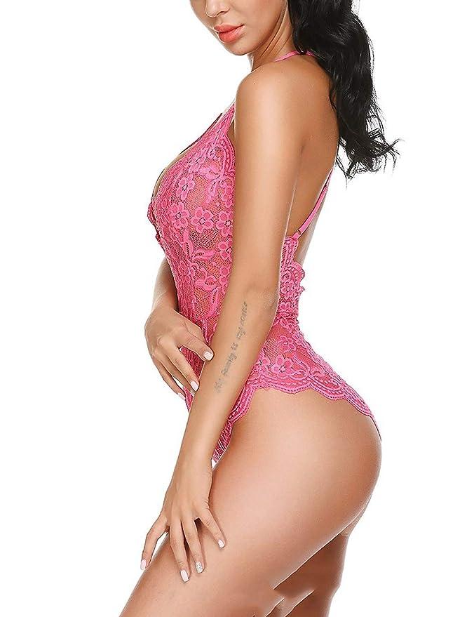 HXLDLM Encaje Europeo Y Americano Combinado Lencería Sexy Extremadamente Tentador Discoteca Lencería Sexy Mujer: Amazon.es: Ropa y accesorios