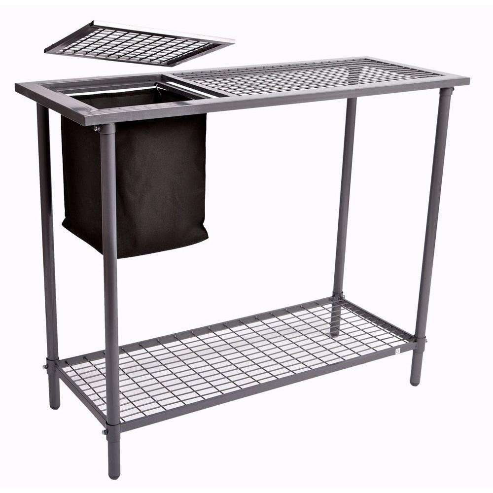 Weatherguard Garden and Greenhouse Wire Grid Top Potting Bench / Table