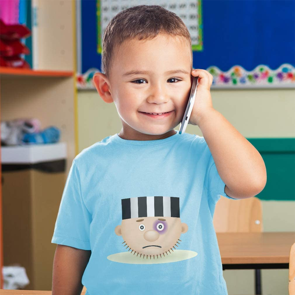 Custom Baby /& Toddler T-Shirt Occupation Head Prisoner Cotton Boy Girl Clothes