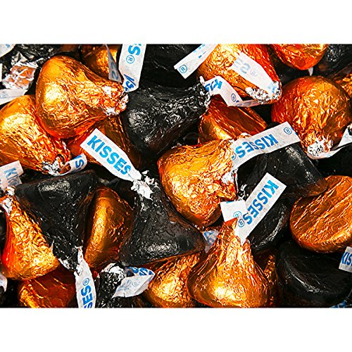 Kisses Hershey Color Combo - Orange and Black: 800-Piece Box ()