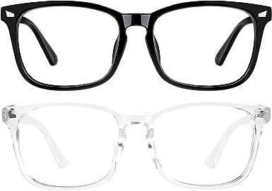 Blue Light Blocking Glasses Women Men Anti Eye Strain Blocker Blue Light Filter Glasses Computer Gaming Glasses