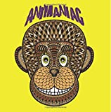 Animaniac Animal Adult Coloring Book: 50 Fun & Detailed Animal Pictures to Color (Including Horse, Koala, Elephant, Monkey, Giraffe and More!)
