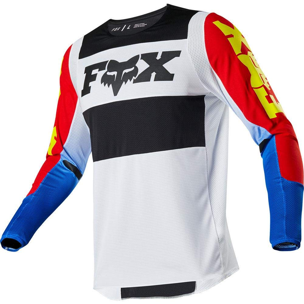 2020 Fox Racing 360 Linc Jersey-Blue/Red-S by Fox Racing
