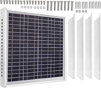 Ventilador de ático con panel solar de 15 vatios Kit de ...