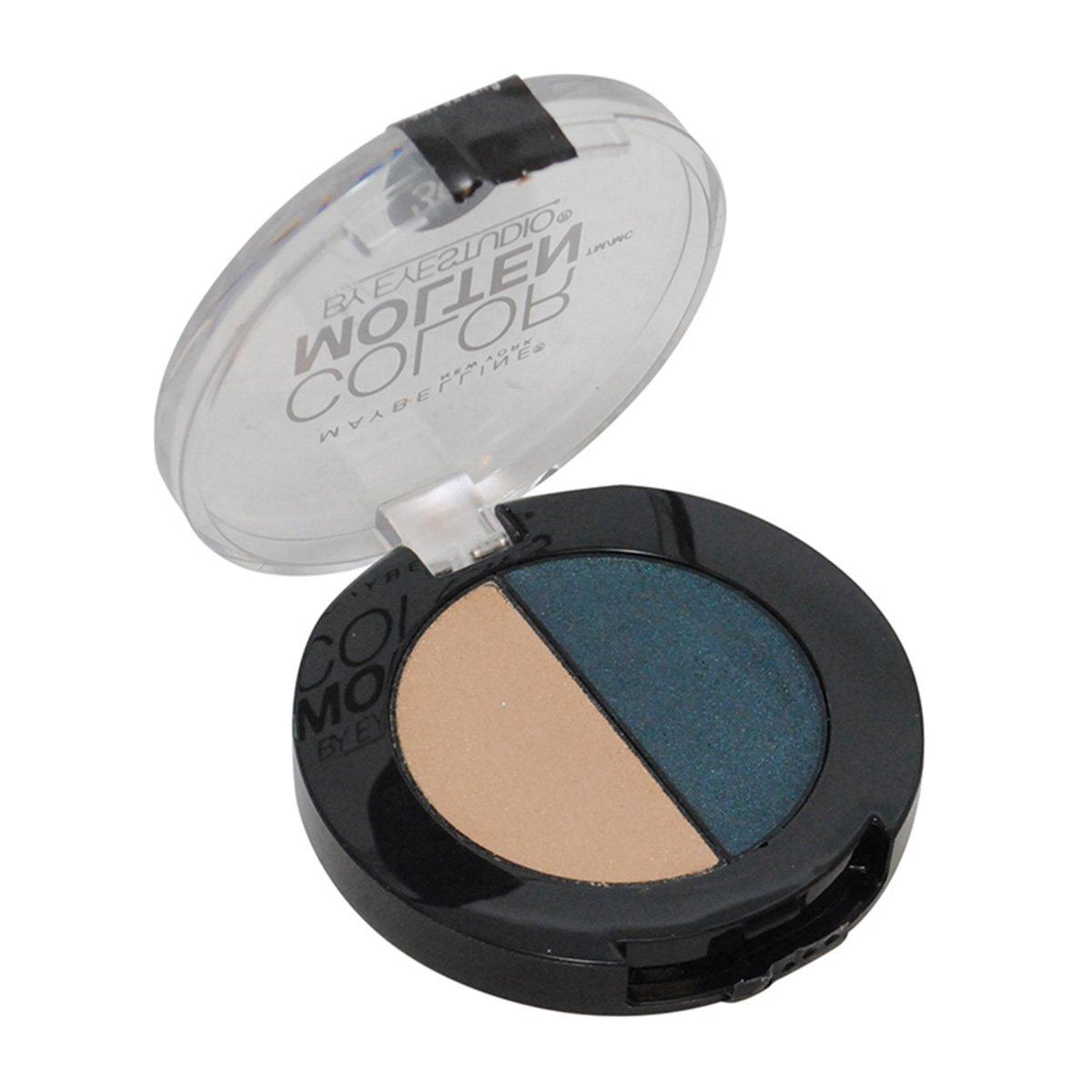 Maybelline New York Eye Studio Color Molten Cream Eye shadow, Teal Twist, 1 Count